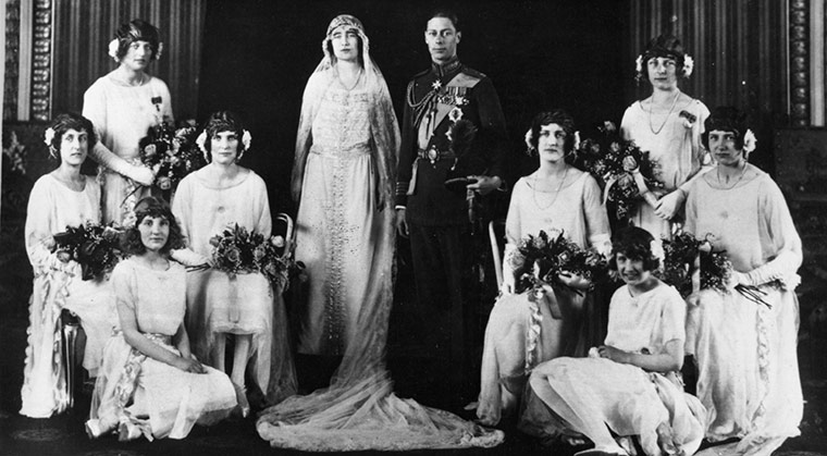 The Windsor Diary Lady Elizabeth Bowes Lyon Marries